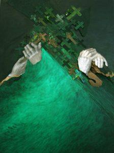 """Buchseite """"Deine Hände – Meine Hände"""""""
