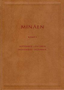 "Buchcover ""Minäen"""