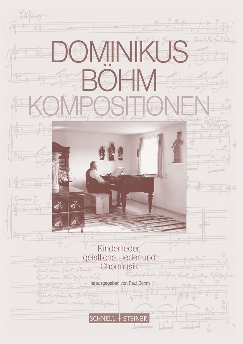 "Buchcover ""Dominikus Böhm Kompositionen"""